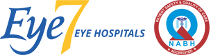 Eye7 Logo with NABH Accredition