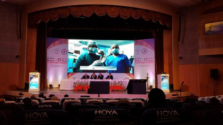 Dr. Sanjay Chaudhary Performs Live Micro Phaco Cataract Surgery at DOS Annual Conference, 2017